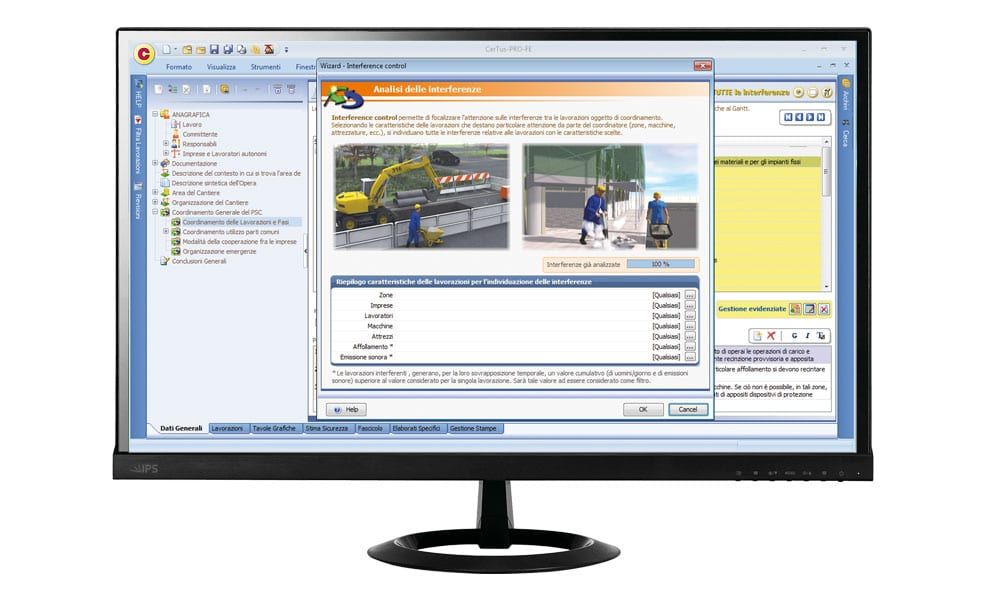 Software PSC - Analisi interferenze - CerTus PSC - ACCA software