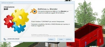 Integrazione BIM: Blender - Edificius