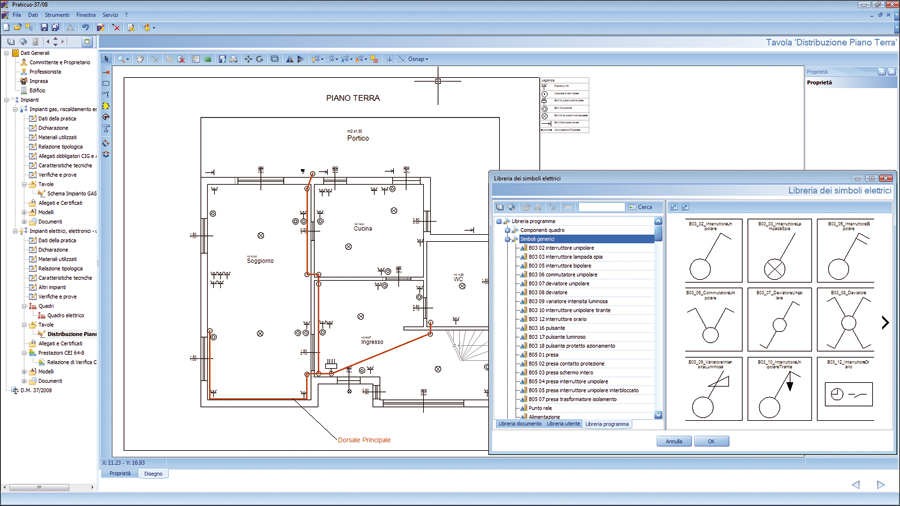 Software dichiarazioni conformita impianti praticus dm for Software di progettazione di edifici domestici