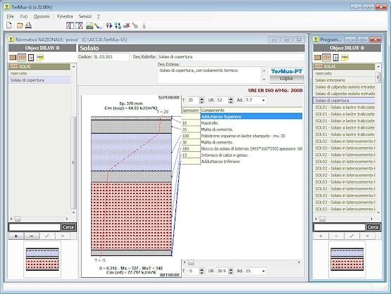 Software trasmittanza termica free