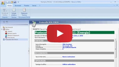 Anteprima Video Itacus - Software Protocollo ITACA