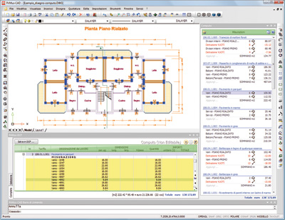 PriMus-CAD - L'interfaccia