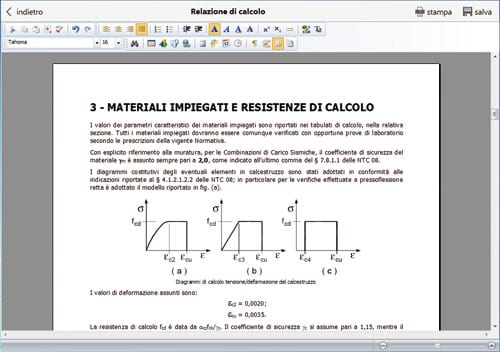 Software calcolo cerchiature calcolus cerchiatura acca - Cerchiatura muro portante ...