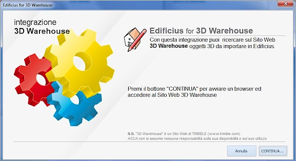 Edificius for 3D Warehouse