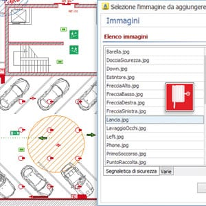 Software antincendio antifuocus acca software for Simboli antincendio dwg