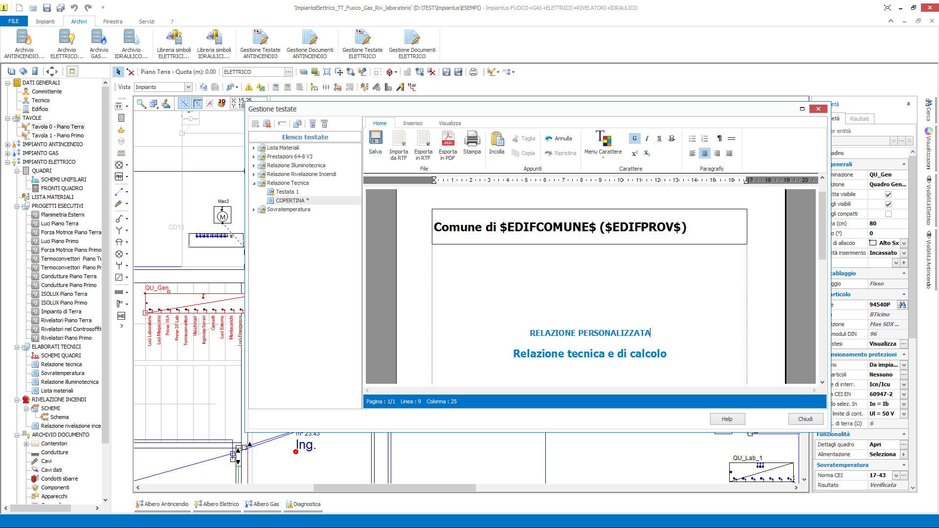 Schema Elettrico Ups : Aggiornamento impiantus elettrico versione