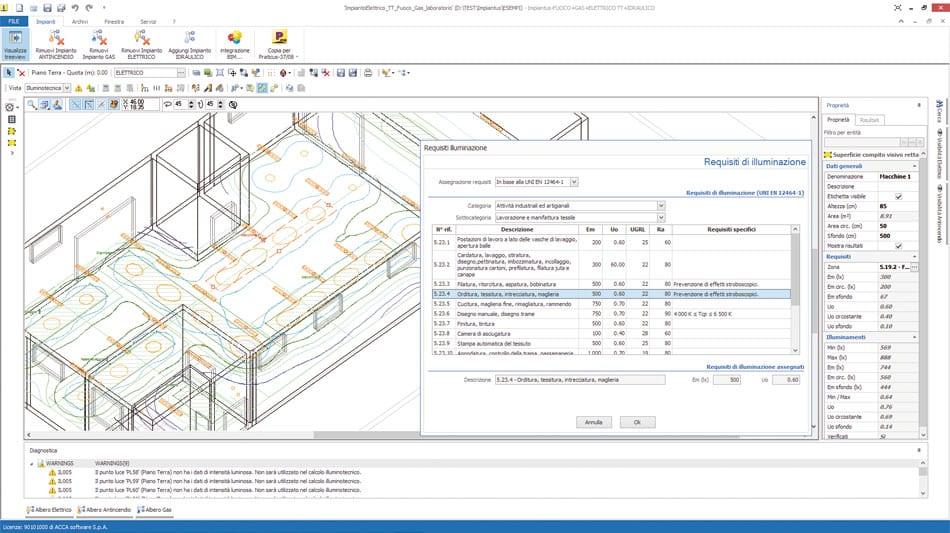 Disegnare Schemi Elettrici : Software progettazione impianti elettrici impiantus