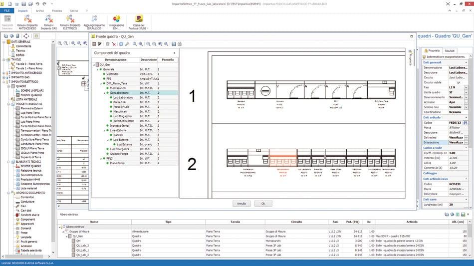 Schemi Quadri Elettrici Software Gratis : Software progettazione impianti elettrici impiantus