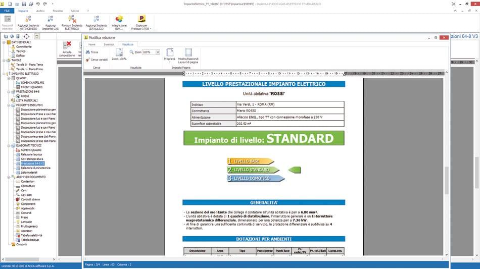 Software per la progettazione di impianti fotovoltaici 55