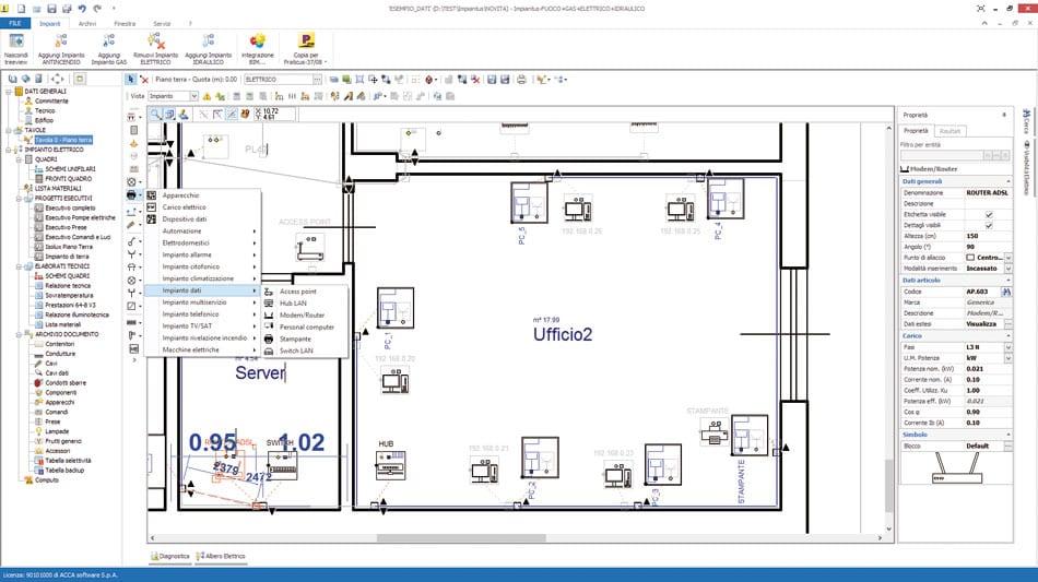 Schemi Elettrici Disegnare : Come progettare un impianto elettrico