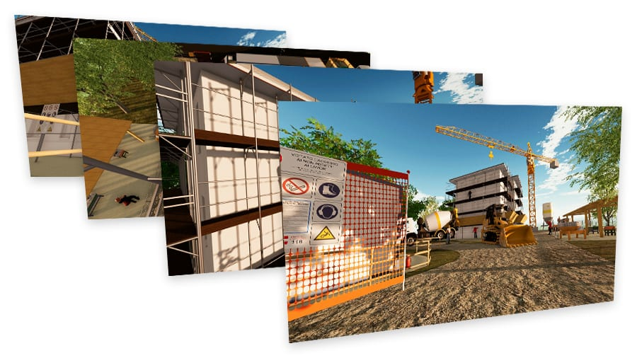 Real-Time rendering del cantiere