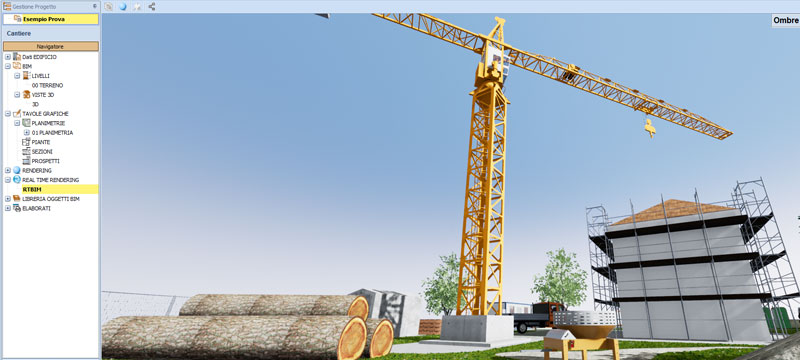 Integrazione con il Real Time Rendering - Health & Safety BIM