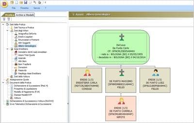 Software successioni decuius acca software for Successione 2017