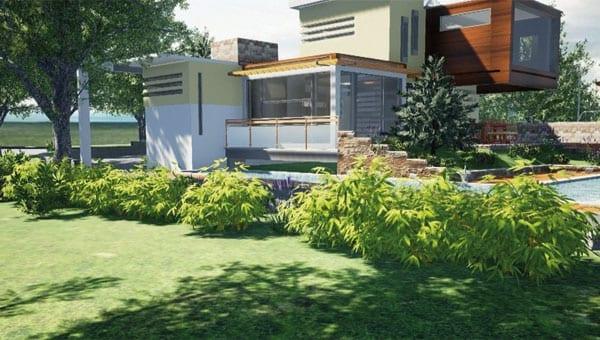Software progettazione giardini edificius land acca for Progettazione giardini software