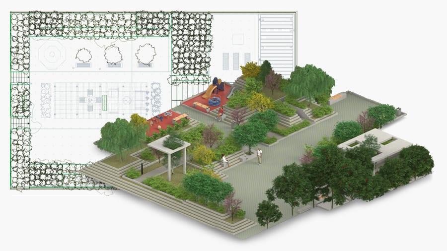 Software Progettazione Giardini Edificius Land Acca Software