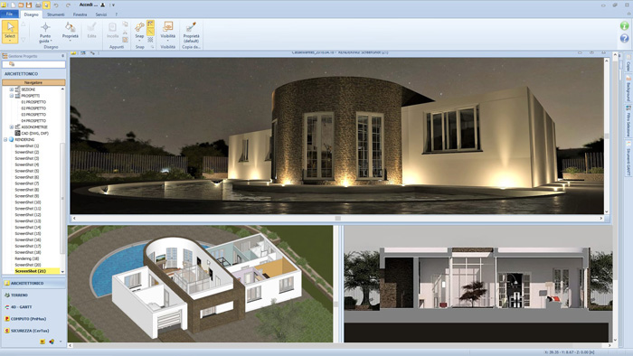 Software BIM per la progettazione integrata - Edificius - ACCA software