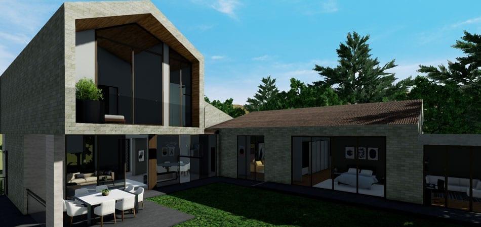Software per rendering 3d di architettura edificius for Architettura 3d