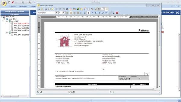 Fattura per edilizia documenti with fattura per edilizia for Miglior software di progettazione edilizia