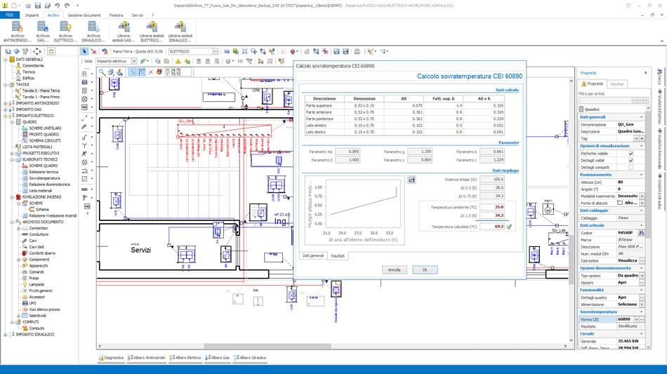 Software progettazione impianti elettrici impiantus for Programma per progettare