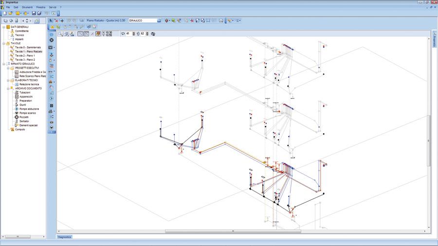 Software progettazione impianti idraulici impiantus for Piani casa africani gratis