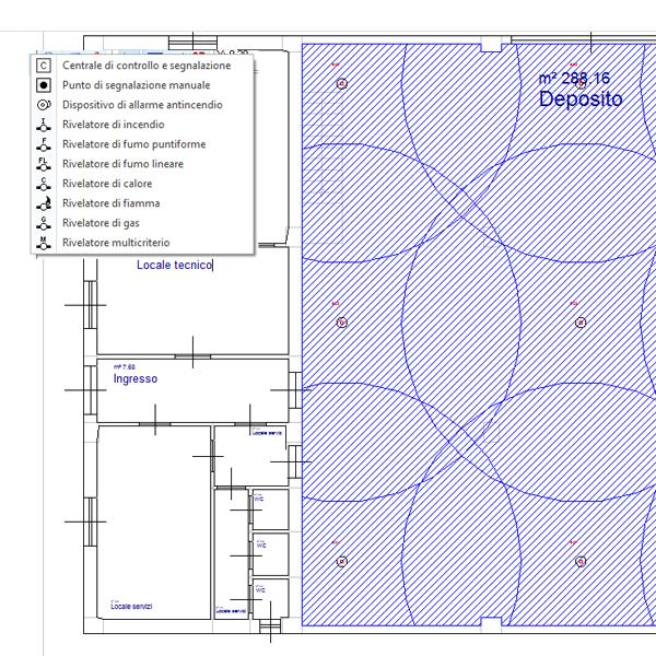 Software impianti rivelazione incendi acca software for Software di progettazione di edifici domestici