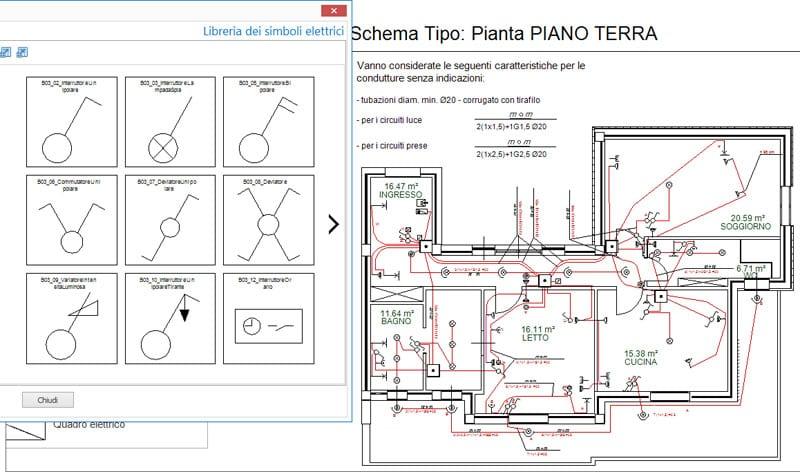 Software per dichiarazione di conformita praticus 37 08 for Disegnare la pianta del piano di casa
