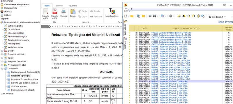 Software Per Dichiarazione Di Conformita Praticus 3708 Acca