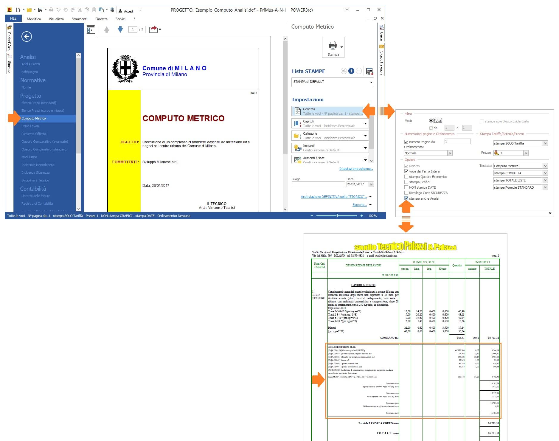 Software analisi prezzi primus a acca software for Computo metrico estimativo excel