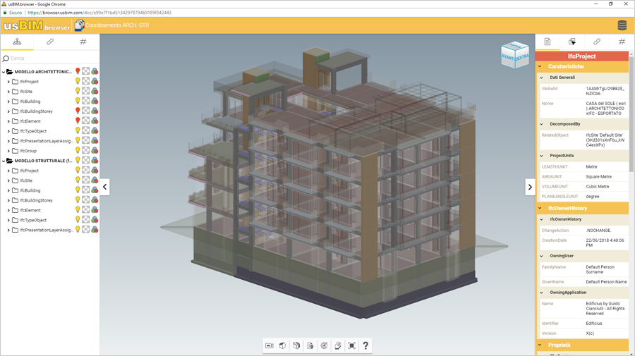 Software BIM per la collaborazione - usBIM-platform