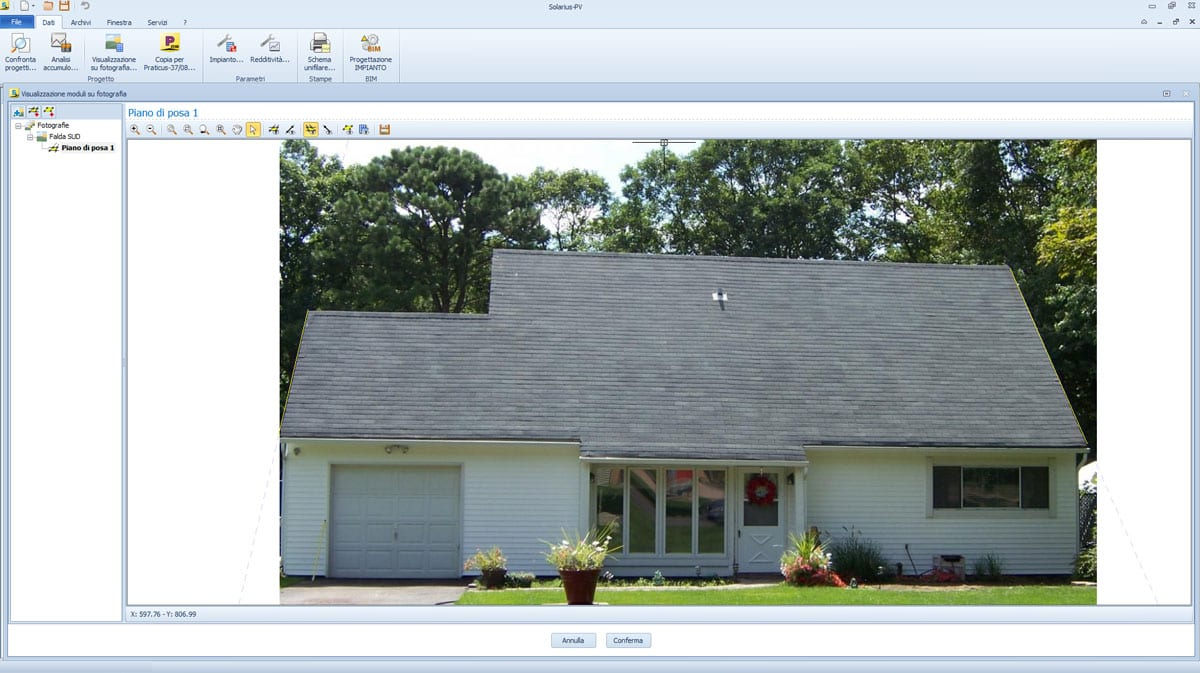 Schema Quadro Elettrico Per Fotovoltaico : Software fotovoltaico solarius pv acca software