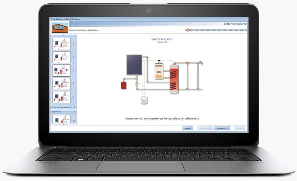 Software progettazione pannelli solari termici solarius for Software progettazione impianti irrigazione gratis