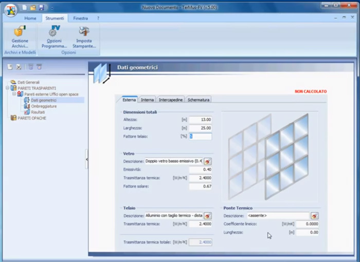 Software Facciate Ventilate - TerMus-FV - ACCA software